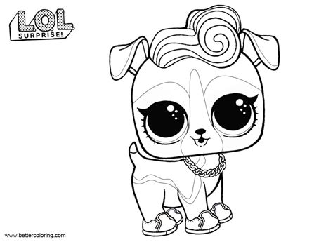 lol pets coloring pages dj   printable coloring pages