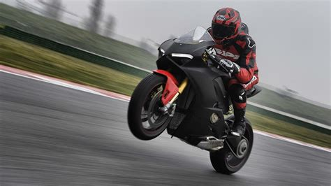 Black Ducati Panigale V4 by 2018 Ducati Panigale V4 Prototype Quest To Ride The New
