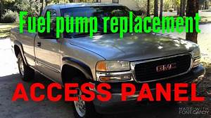 How To Change A Fuel Pump On A 2000 Gmc Sierra