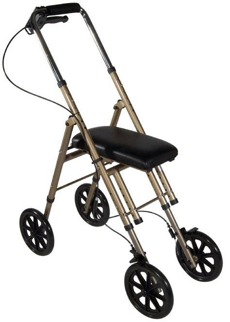 walker knee adult medical drive standard walkers wheels without plussize