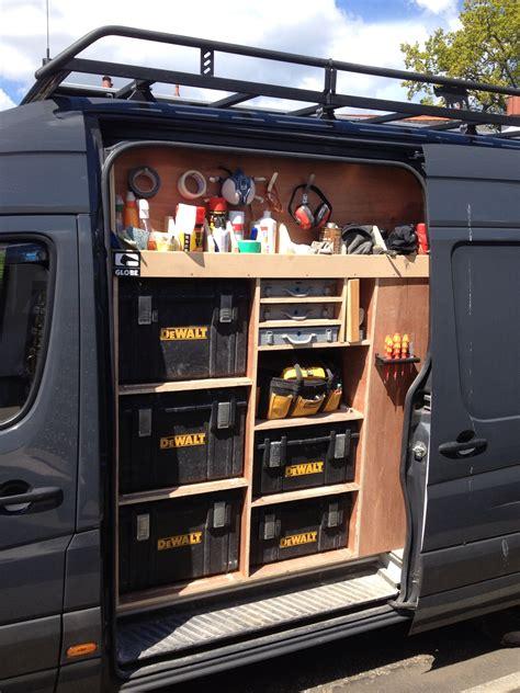 Van Racking Tool Storage Work In Progress Garage