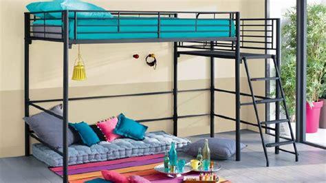 chambre ado avec lit mezzanine deco chambre ado garcon alinea visuel 5
