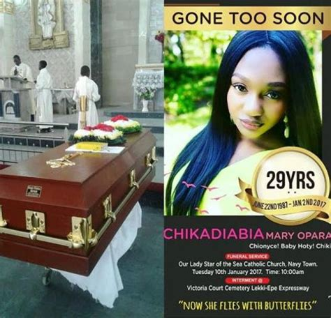 Photos: Young beautiful Nigerian woman laid to rest yesterday.