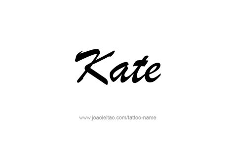 kate  tattoo designs