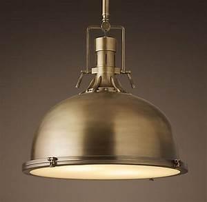 Harmon quot pendant antique brass our kitchen