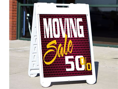 Sidewalk Signs Sandwich Board Signs Sidewalk A Frame Signs