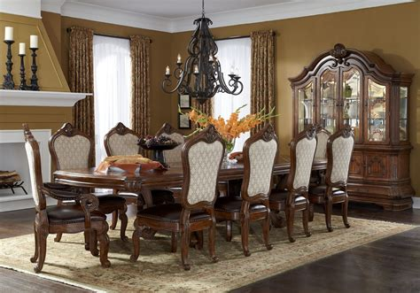 tuscano melange formal dining room collection  aico
