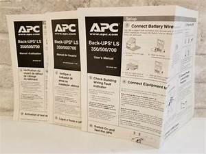 Apc Back 500  700 Operation Users Manual Guide