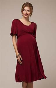alicia nursing dress berry maternity wedding dresses With robe pour mariage rouge
