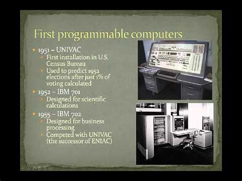 Brief History Information Systems Present Youtube