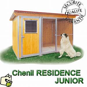 Chenil Extérieur Pour Chien : chenil en bois avec courette pour le chien ~ Melissatoandfro.com Idées de Décoration