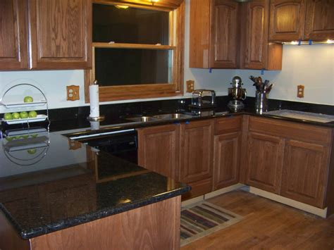 kitchen cabinets with black granite countertops black granite kitchen countertops design awesome style 9831