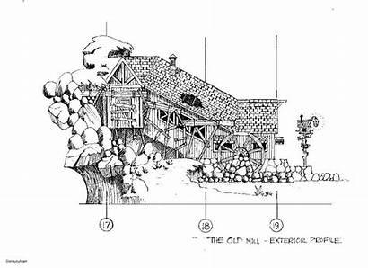 Disney Splash Mountain Concept Sketch Walt Disneyland