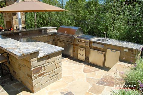 Island Ideas For Small Kitchen - outdoor kitchens and bbq grills horusicky construction