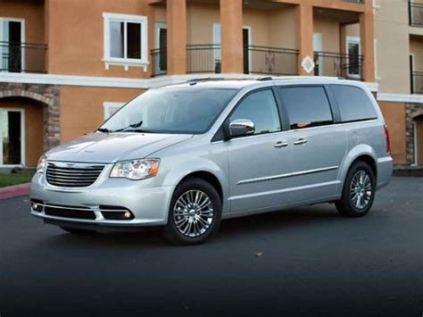 2013 Chrysler Town And Country Gas Mileage top 10 best gas mileage vans fuel efficient minivans