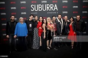 Suburra Cast members attend the after party for Netflix ...
