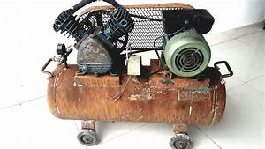Restoration Rusty Old Air Compressor