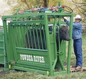 Rancher Hydraulic Squeeze Chute Powder River