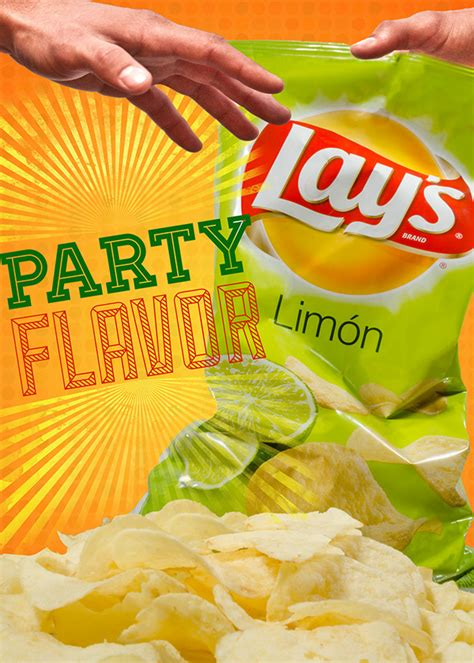 Lay's Chips Advertisement Campaign on Pantone Canvas Gallery