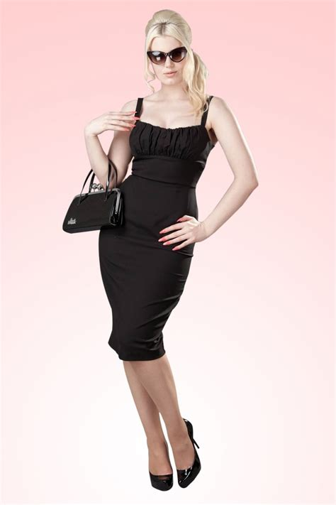 bad betty dress black