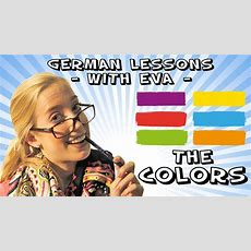 German Lesson 6  The Colours Youtube