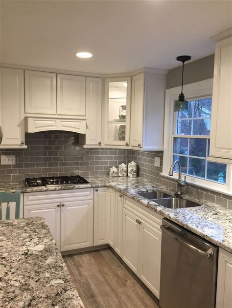 kitchen white tiles white kitchen gray subway tile backsplash kitcheng 3480
