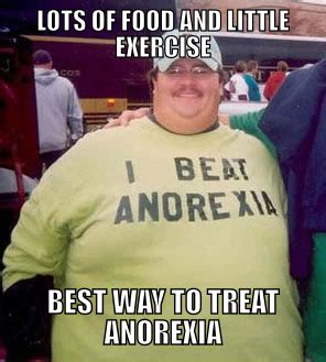 Anorexia Meme - i beat anorexia know your meme