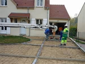 creation d39une entree de maison en beton desactive With faire une entree de maison