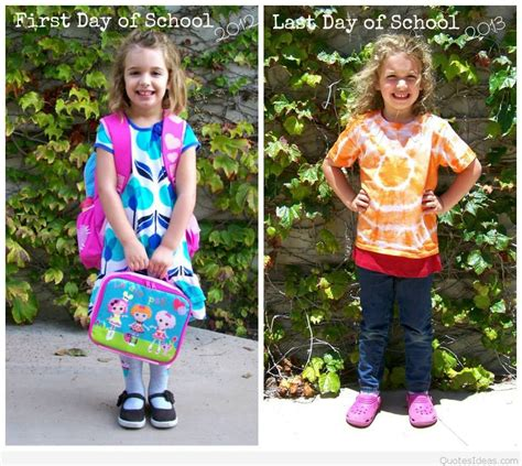 day of school back to school quotes sayings 194 | last and first day school
