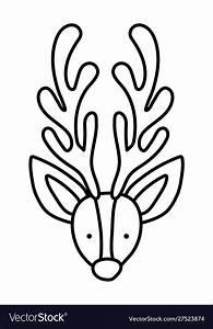 How To Draw Reindeer Head