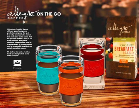 Producer of sustainably delicious coffees, teas, and spices. Allegro Coffee - Singer Sustainability