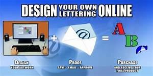 vinyl letters vehicle lettering boat lettering window With order vinyl lettering online