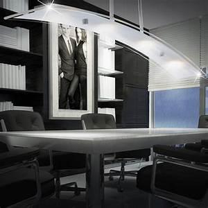 Led Beleuchtung Büro : deckenlampe led 20 watt beleuchtung chrom leuchte b ro arbeitszimmer flur diele ebay ~ Markanthonyermac.com Haus und Dekorationen