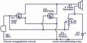Power Megaphone Circuit