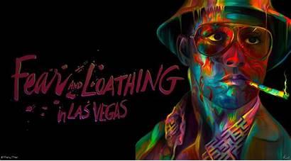 Fear Loathing Vegas Las Wallpapers Trippy Backgrounds