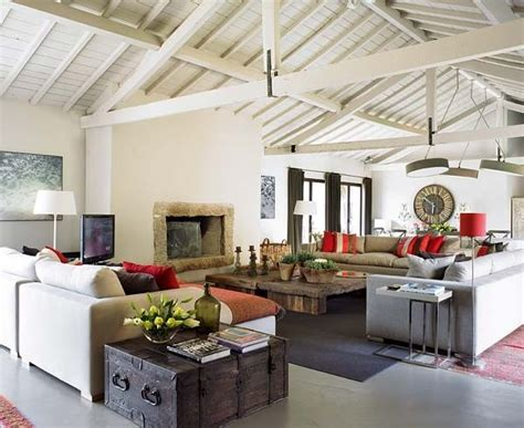 modern rustic home interior design charming combination of rustic furniture and modern