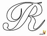 Coloring Alphabet Pages Letter Cursive Classic Yescoloring Lowercase Script Letters Yes sketch template
