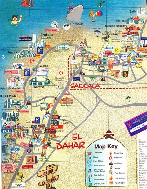 karte aegypten hurghada hotels goudenelftal