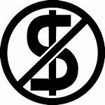 Money Icon Icons Cash Cost Freedom Dollar