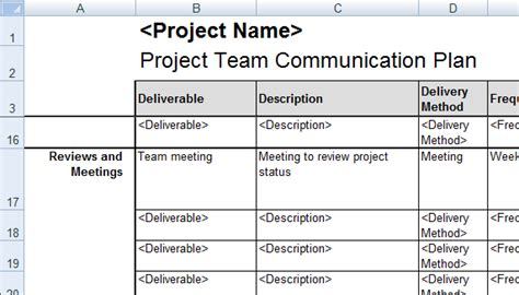 excel templates  project management tracking