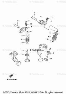 Yamaha Motorcycle 2004 Oem Parts Diagram For Valve