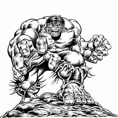Hulk Cartoon Deviantart Tattoo Williams Comic Incredible