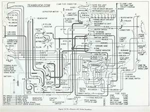 1955 Buick Wiring Diagram