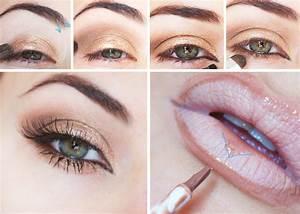 Maquillage Yeux Tuto : tuto maquillage yeux marrons naturel ~ Nature-et-papiers.com Idées de Décoration