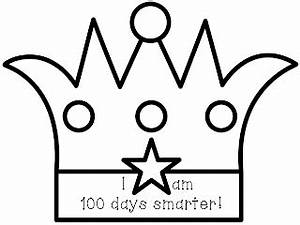 classroom treasures 100 days With 100th day of school crown template