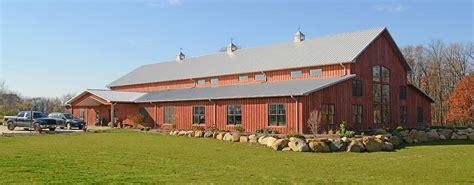 pole barn home  unique  affordable home idea