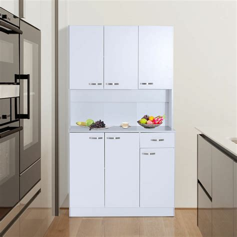 Standing Cupboard by Free Standing Kitchen Furniture Cabinet Unit Modern