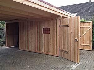 Schuppen Aus Holz : carports berdachungen bauen in brandenburg havel ~ Michelbontemps.com Haus und Dekorationen