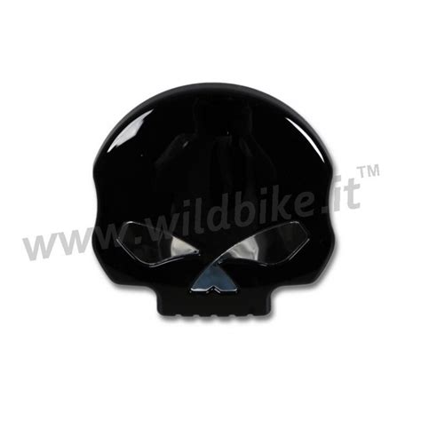 gas cap tank skull black for harley davidson xl sportster
