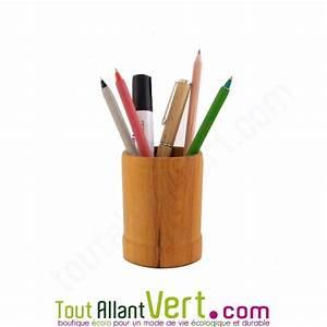 Pot A Crayon : pot crayon en bois de h tre achat vente cologique acheter sur ~ Teatrodelosmanantiales.com Idées de Décoration